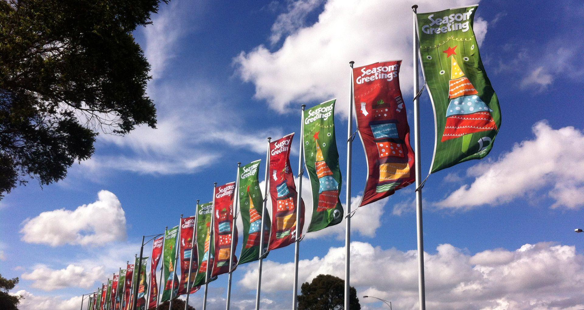 Christmas-Flags